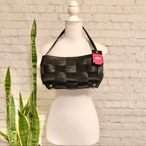 Harvey's Original Seatbelt Shoulder Bag Black
